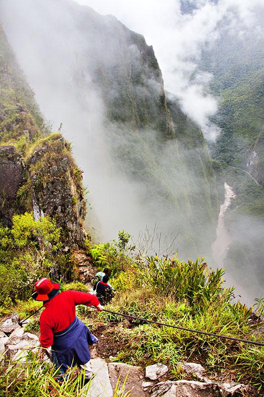 Huaynu Picchu Descent