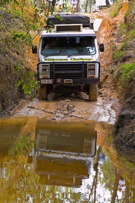 Wilderness Challenge OKA crossing a creek
