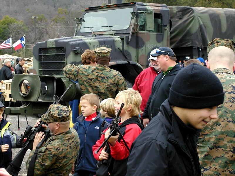 Kids Play with Guns