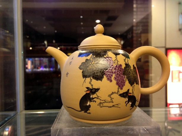 Freehand Rat Teapot