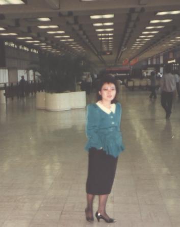 Vickie at CKS Airport