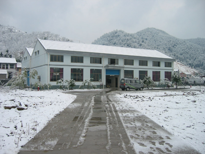 Snowing at Fenshui