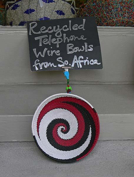 African Wire Baskets