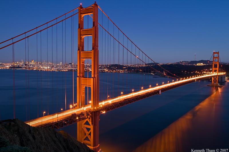 Golden Gate Bridge at Dusk