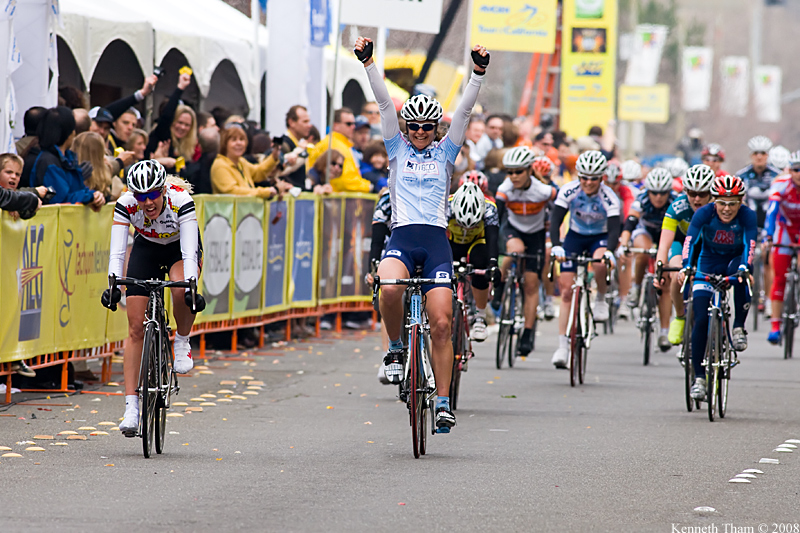 Brooke Miller wins Womens Crit