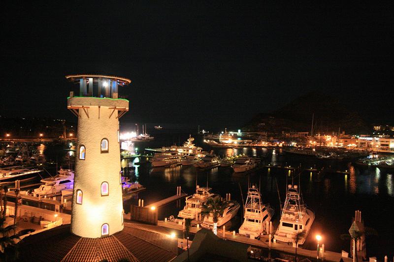 Night in the Marina