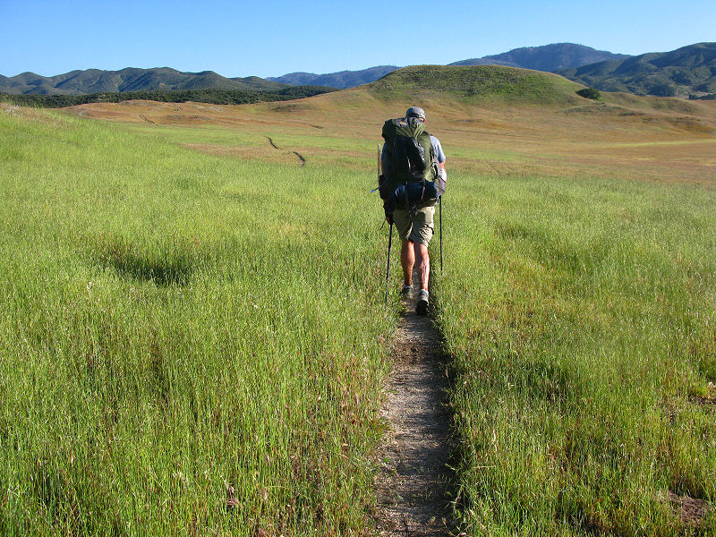Walking the trail...