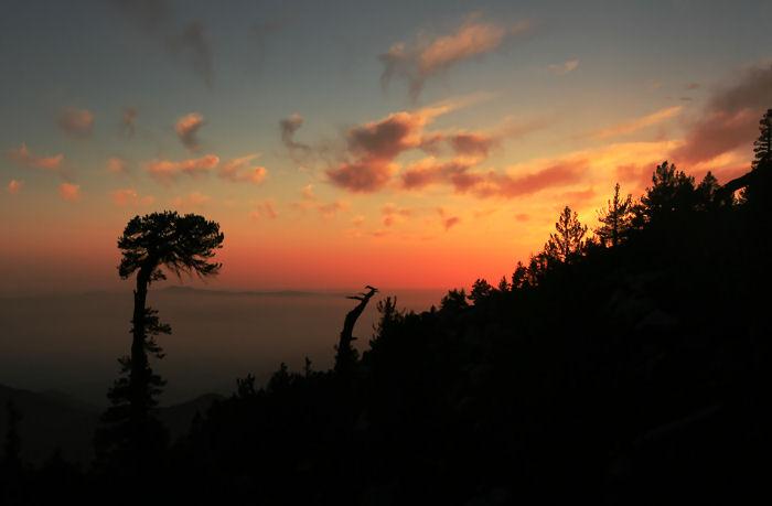 High Alpine Sunset