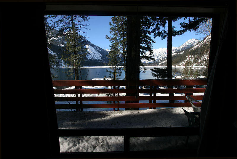View from Stehekin Lodge Room