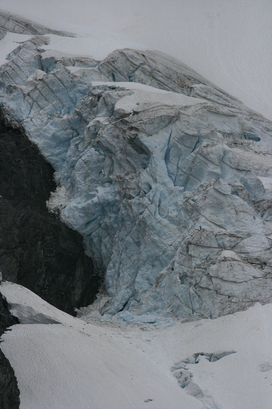 Blue Ice of the Entiat Glacier