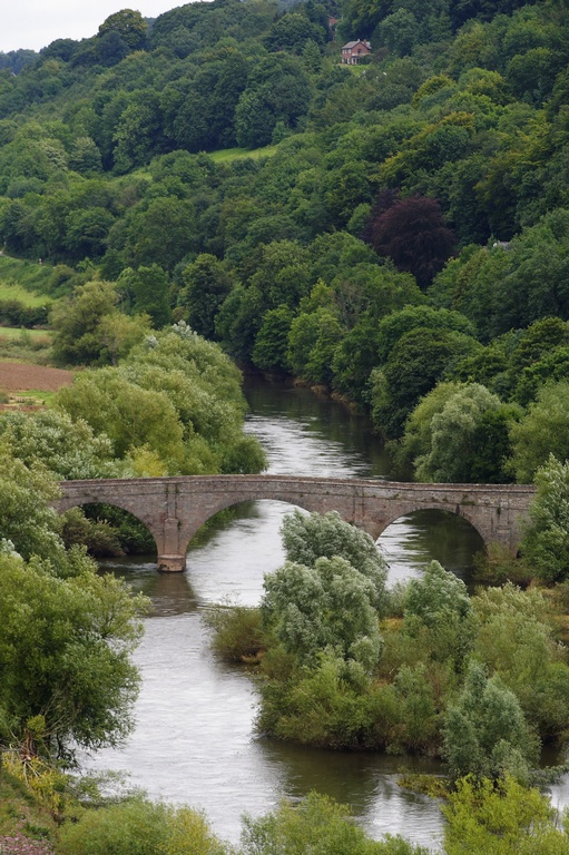 the Wye at Kerne bridge, Goodrich