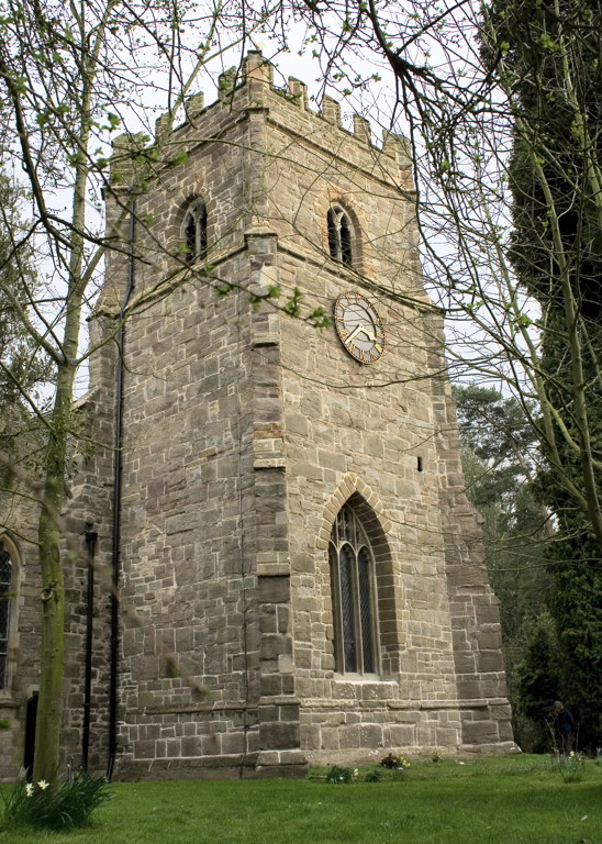 Whitbourne church tower