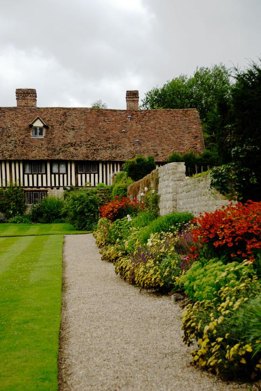 more formal garden