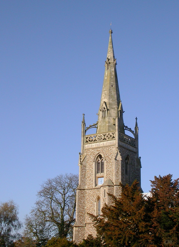 Woolpit church tower