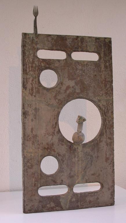 beautifully displayed art of Miro and contemporaries