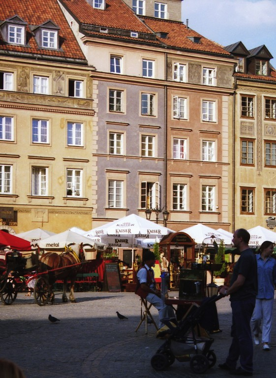 Rynek - restored as the centre of carefree enjoyment for all