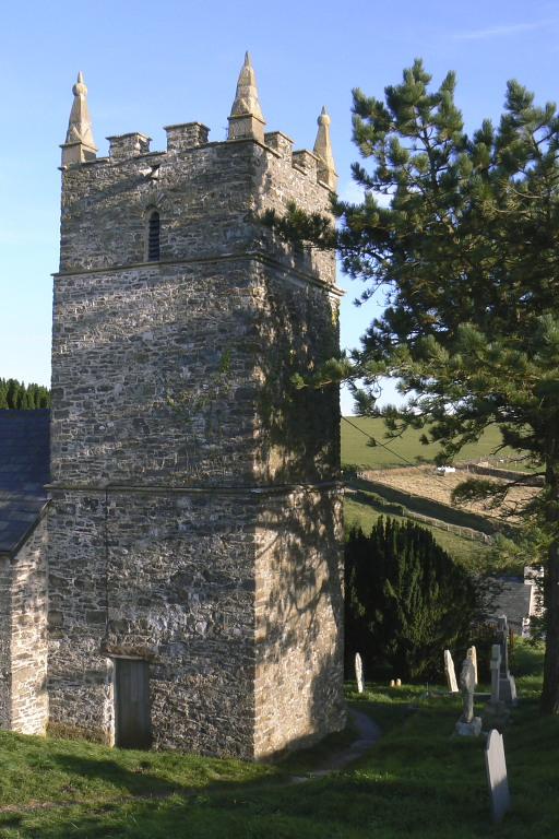 Countisbury church