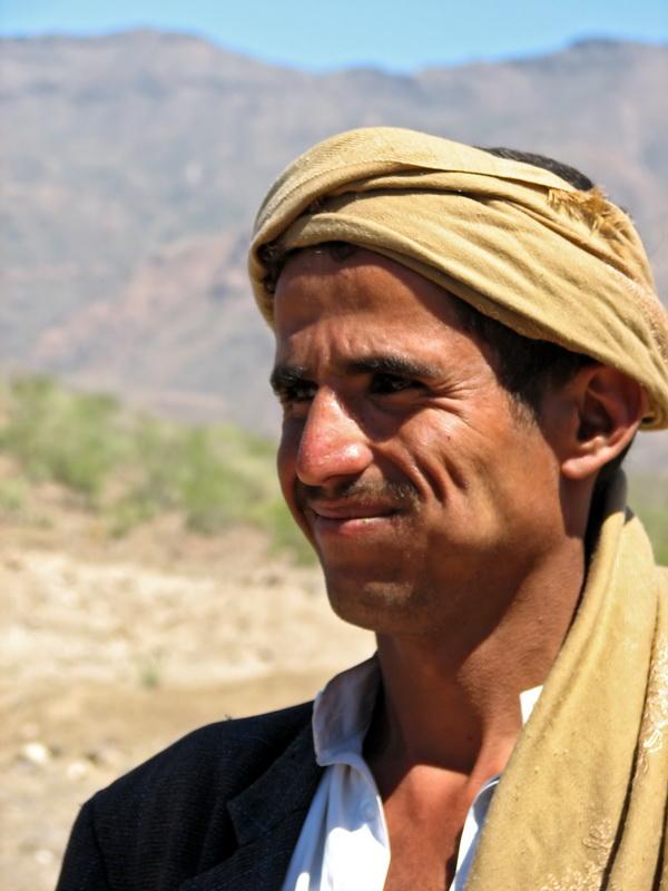 Peasant in Hamam Gearref