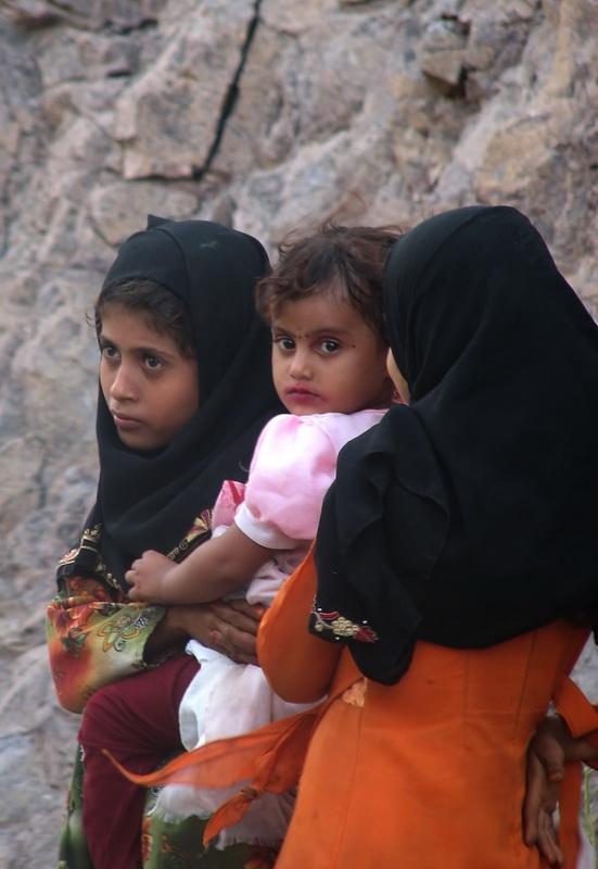 Children in Wadi Sarie