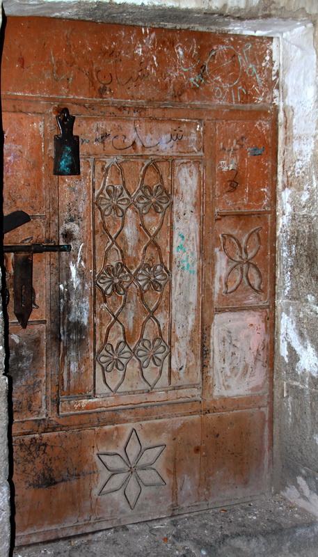 Door in the old Suq, Sanaa