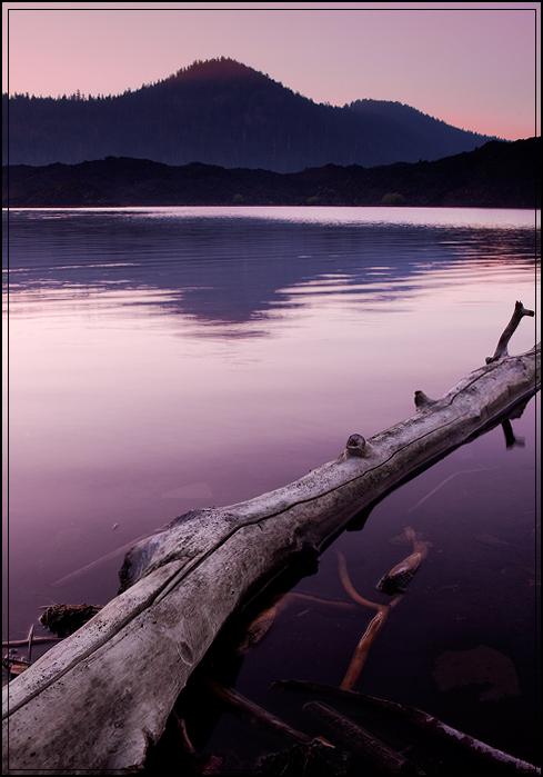 Sunrise at Butte Lake