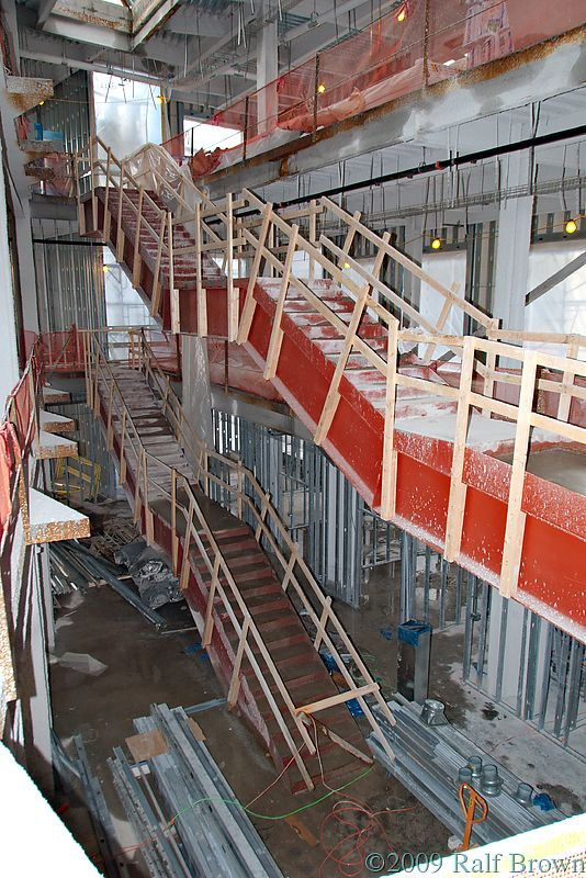 Atrium and Hogwarts Stairs on Floors 5-7