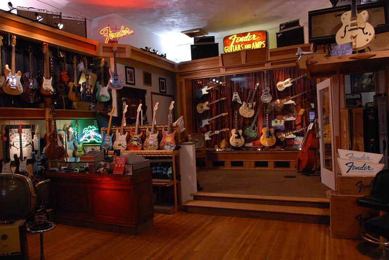 Cool guitar shop in Ithaca
