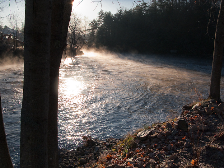 Autumn Morning on the Union River #3