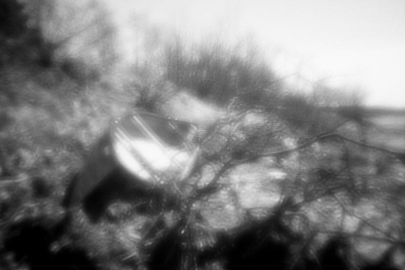 Canoe at Bayside, Monochrome