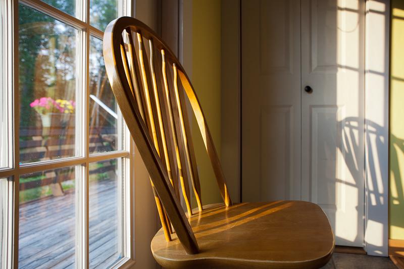 Chair in Morning Light