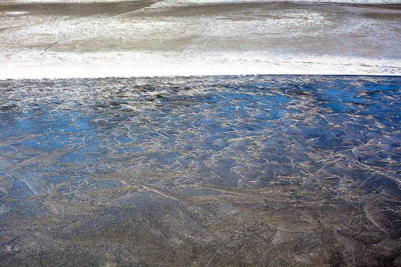 Ice, Cracked Ice and Sky