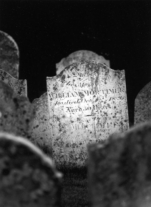 Churchyard, Stoke by Nayland, England