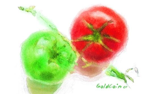 Watercolor-tomates PAINTER 7