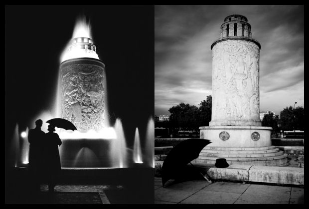 Fred Stein Paris Fountain Homage Paris Fountain 1935