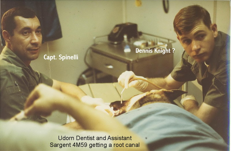 Sargent 4M59  Getting A Root Canal  Udorn 1969 1
