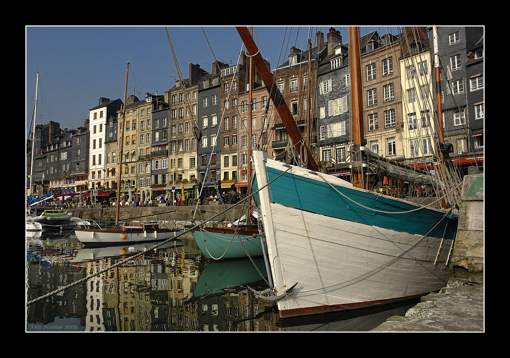 Magic light of Honfleur 1