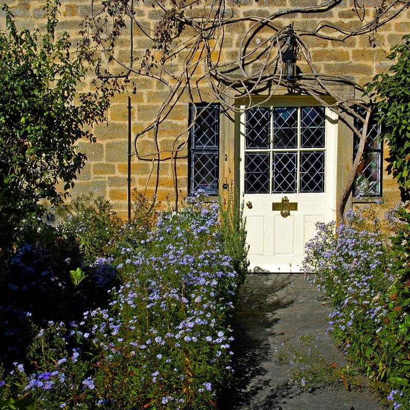 Garden path and door, Martock