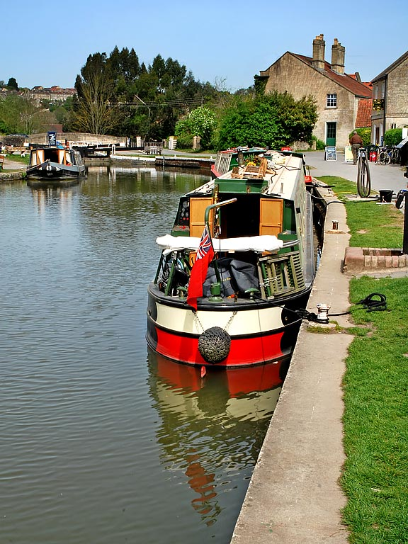 Basin and barges, Bradford on Avon