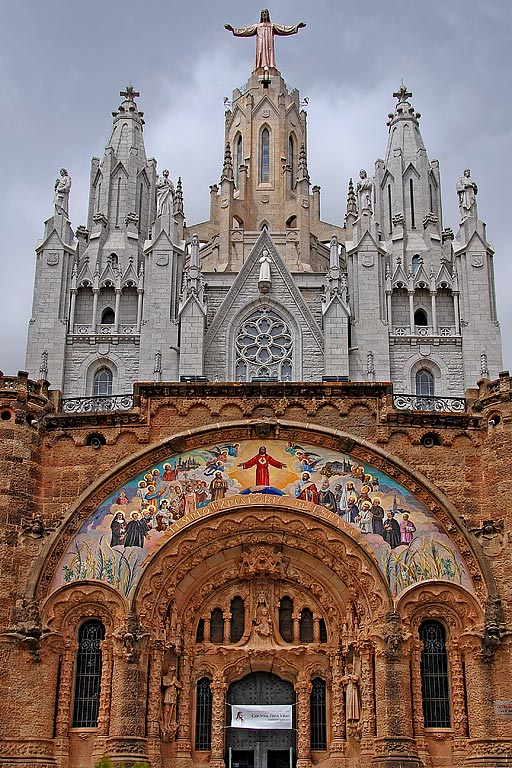 Church and basilica, Tibidabo