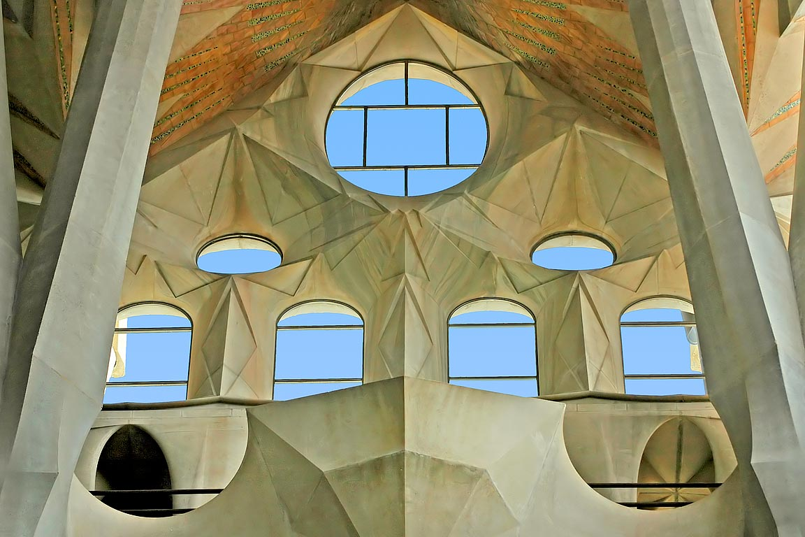 Windows, Familia Sagrada, Barcelona