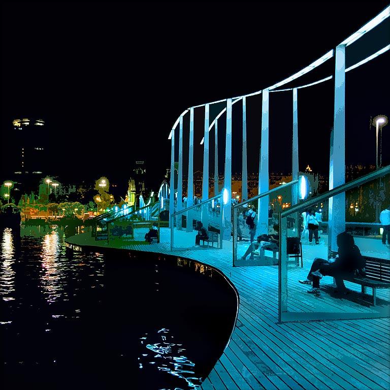 Boardwalk, Barcelona