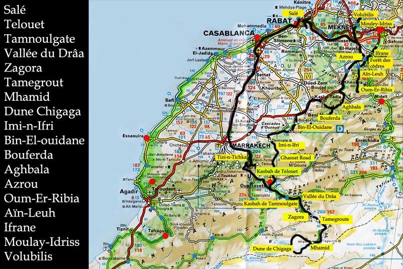 Maroc tour 2007