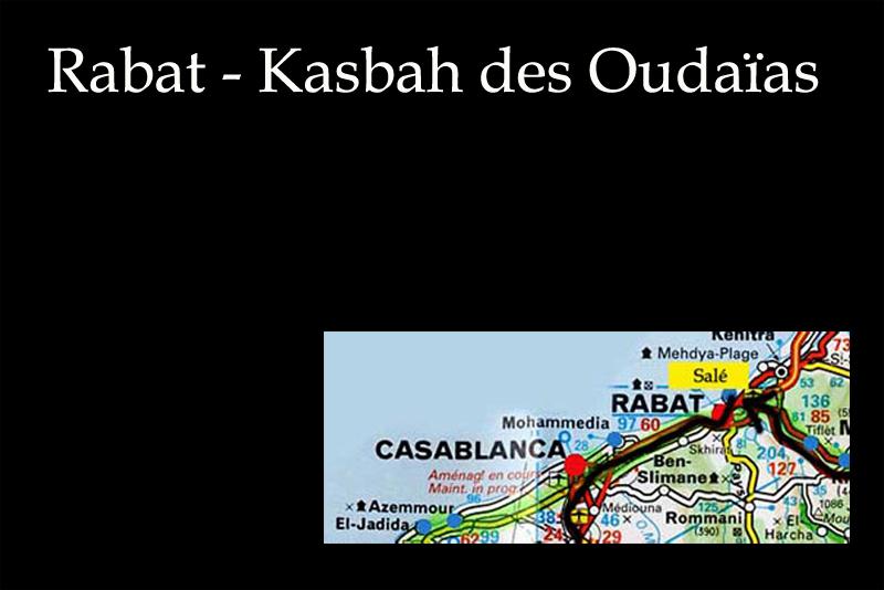 Kasbah des oudaias - Rabat