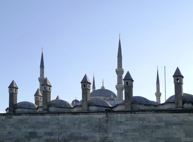 Domes, minarets and towers