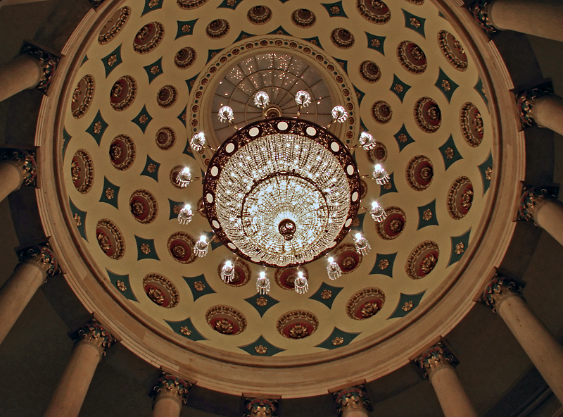 Chandelier in the Crypt