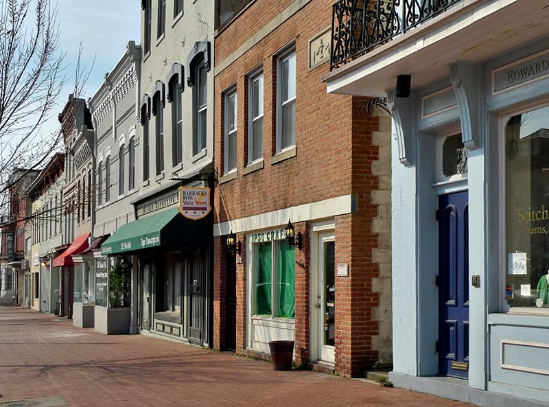 Barracks Row (8th St. corridor)