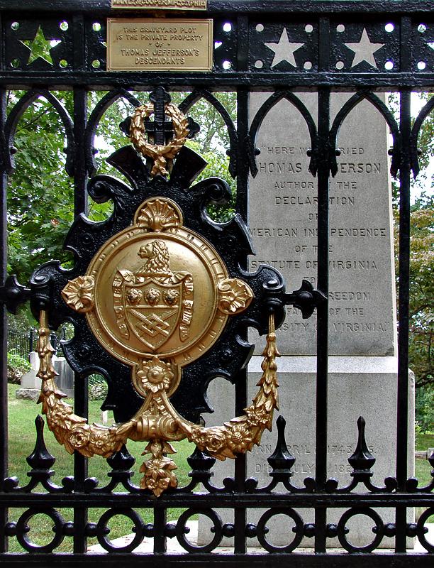 Here Was Buried Thomas Jefferson