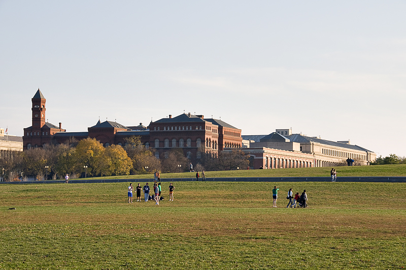 A view across the Mall