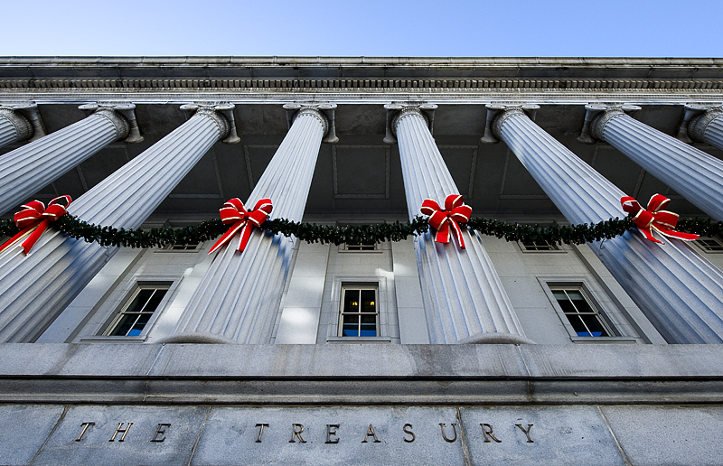 A different view of the Treasury