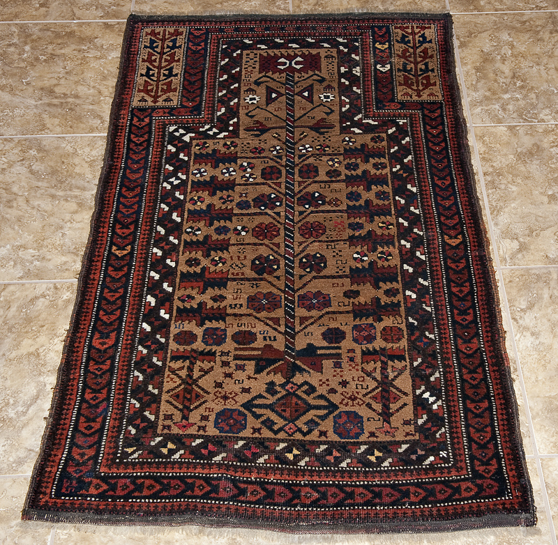 Baluch prayer carpet